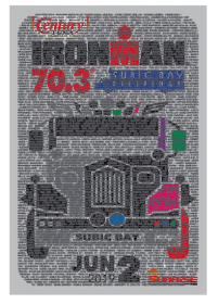 CT IM 70.3 2019 Event Name Towel